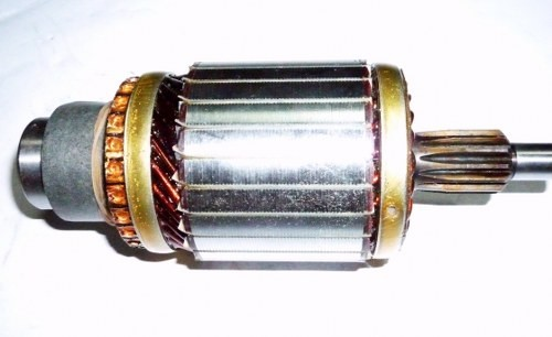 Spare part toyota corona absolute for Grayson armature small motor