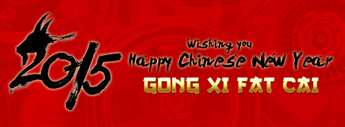 Haapy Chinese New Year 2015